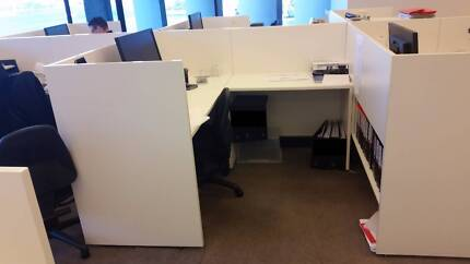 12 x L-shaped Workstations Milsons Point North Sydney Area Preview
