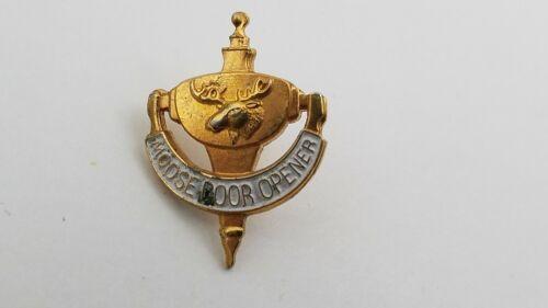 Vintage Moose Lodge Door Knocker Lapel Pin  (NOT AN ACTUAL DOOR KNOCKER) G5