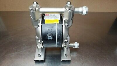 New Dayton 6py51 Double Diaphragm Pump 12 Gpm 100 Psi Ptfe 12 Inlet Outlet