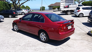 Honda Civic Sedan 2002 East Brisbane Brisbane South East Preview