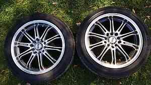 Suzuki swift Sport rims and tyres,  5 stud Newport Pittwater Area Preview