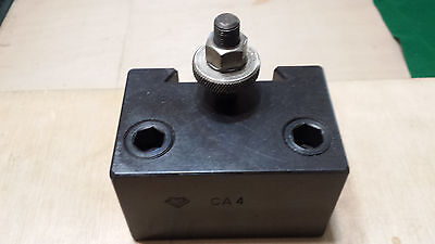 Slightly Used Ca-4 Aloris Heavy Duty Boring Bar Tool Holder 1 14 Boring Bar