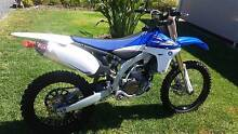 2013 Yamaha YZ450F Low Hours Lewiston Mallala Area Preview