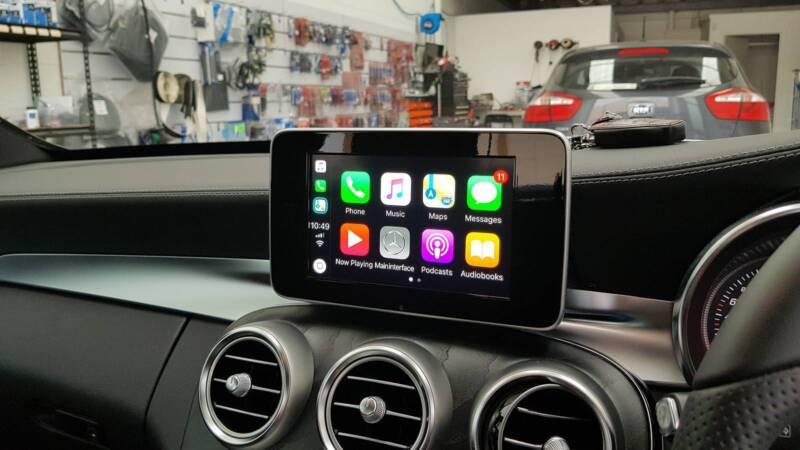 Mercedes Benz W205 C-class CarPlay Installation | Audio, GPS
