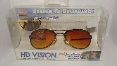 HD Vision Aviator Sunglasses as seen on TV Ultimate Clarity! *New Old (As Seen On Tv Aviator Sunglasses)