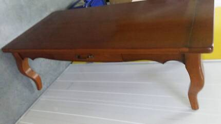 Avignon Antique cherry wood coffee table North Sydney North Sydney Area Preview