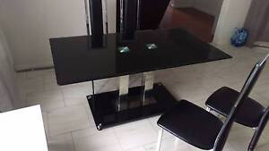 Glass dining table Bexley North Rockdale Area Preview