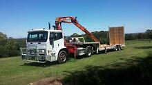 float, lowloader acco 2350g single drive crane truck  primemover Penrith Penrith Area Preview