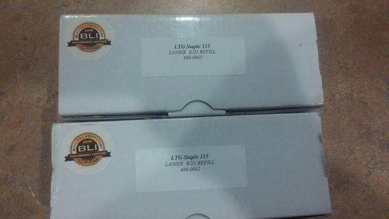 BLI LTG Staple 115 Lanier K/J1 Refill 480-0062 2 New Open Boxes  25000 total