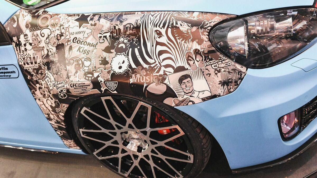 Auto folieren