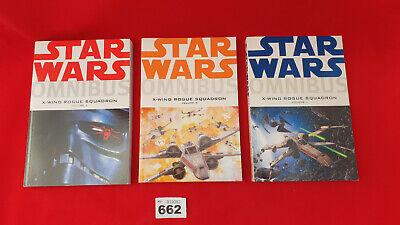 ⭐⭐B662 Star Wars Omnibus 1-3 X-Wing Rogue Squadron 1 2 3 Full Set Dark Horse⭐⭐