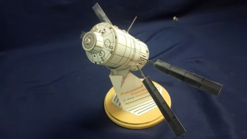 NASA-Engineered ESA Automated Transfer Vehicle Paper Scale Model Detailed RARE