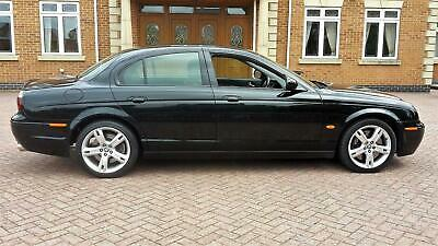 BEAUTIFUL EXAMPLE 55 REG JAGUAR S-TYPE R 4.2 SUPER-CHARGED WITH 400 BHP / PX
