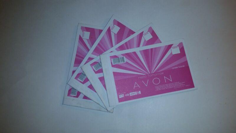 NEW AVON Order Book Receipt books - lot of 4