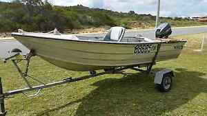 Dinghy with motor and trailer Mount Lawley Stirling Area Preview