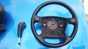 Ba bf xr steering wheel and auto shifter knob Brassall Ipswich City Preview