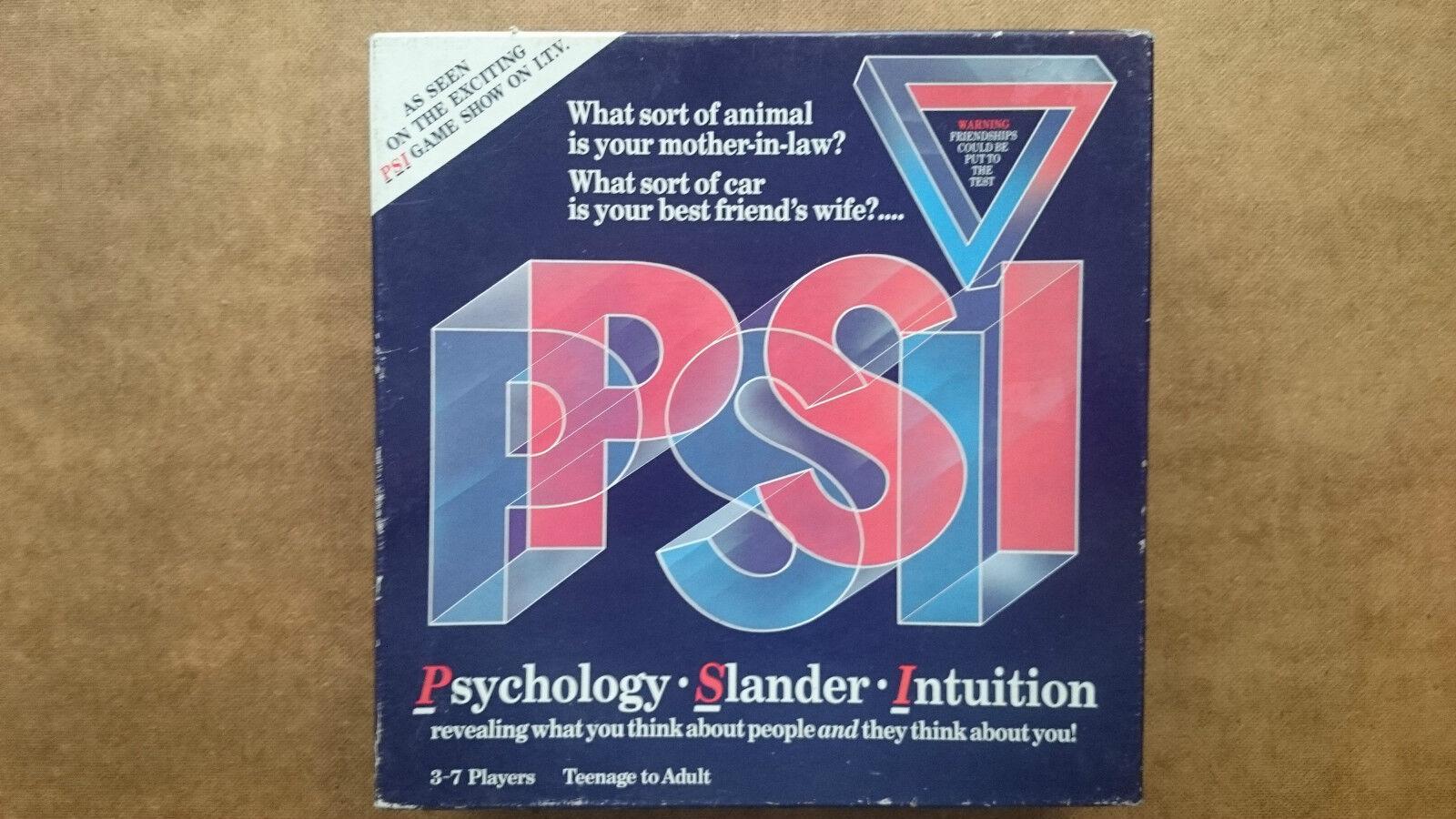 PSI Game  1987