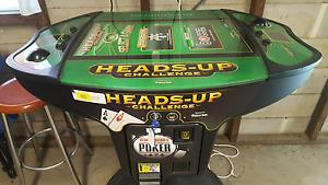 Heads-Up Texas Holdem Poker Machine Waratah Newcastle Area Preview
