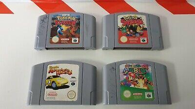 Nintendo N64 Pokémon Snap & Stadium & Super Mario 64 & Beetle Adventure Racing!