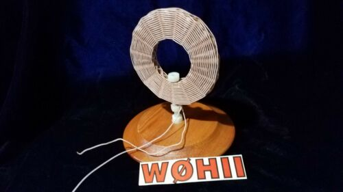 DIAMOND-WEAVE 250/46 LITZ COIL FOR CRYSTAL RADIO SETS with FREE 1N34A diodes