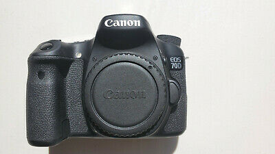 Used Canon EOS 70D Camera Body 244 shutter ct and EOS 70D Canon Neck Strap