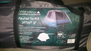 6 person easy up tent