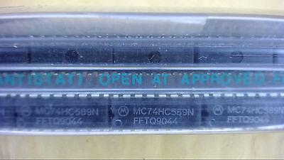 Motorola Mc74hc589n 16-pin Dip Shift Register Ic New Lot Quantity-10