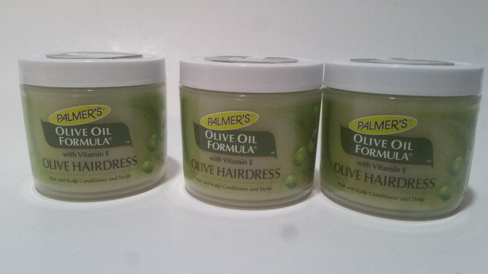 3 Palmer's Olive Oil Formula With VitaminE Olive Hairdress F