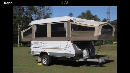 Jayco  outback camper  dove 2004