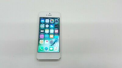 Apple iPhone 5 - 16GB - White & Silver (Unlocked) A1428 (GSM) Clean IMEI 43361