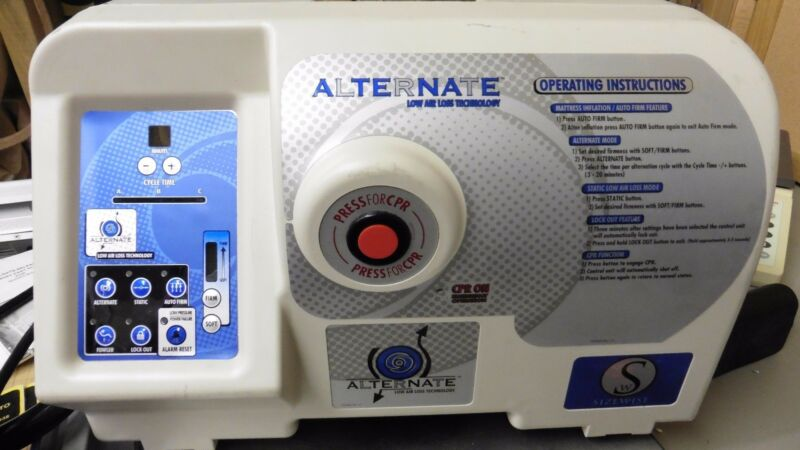 SIZEWISE 61355006 Alternate Low Air Loss Technology Pressure Mattress controller