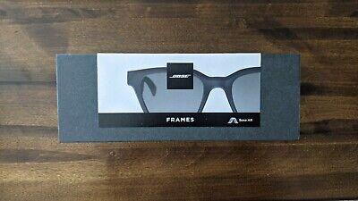 Bose AR Frames Alto Audio Smart Sunglasses - Black(US)