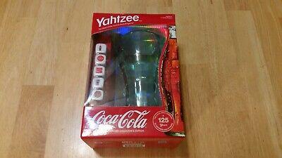 Yahtzee Coca-Cola 125th Anniversary Collector's Edition new in the Box