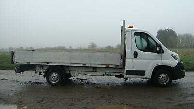 2015 CITROEN RELAY 35 14 FT FOOT 4.3M DROPSIDE TRUCK £4K CHEAPER THAN TRANSIT