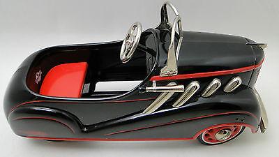Pedal Car 1930s Duesenberg Hot Rod Rare Vintage Sport Metal Midget Show Model