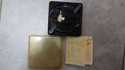 Bruel Kjaer 4333 Accelerometer With Cable And Calibration Chart