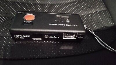 Agfa Agfamatic 901 SE Motory Pocketkamera mit Tasche
