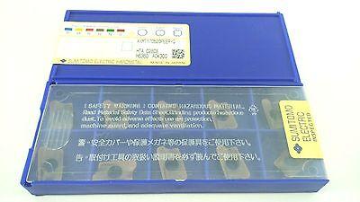 Sumitomo Axmt170520peer-g Ack300 Milling Insert Lot Of 10