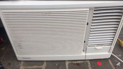 Panasonic window reverse cycle air-conditioner hot and cold