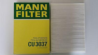 AUDI A4ALL ROADQUATTRO CABINPOLLENAIRFILTER MANN HUMMEL 8E0819439CU3037