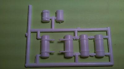 white road boss 1/25 truck semi big rig tractor air oil tanks new model parts