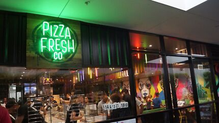 PIZZA FRESH Co. Franchising NOW Finance available