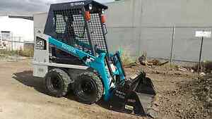 Mini bobcat hire. Toyota , skid steer Clyde Casey Area Preview