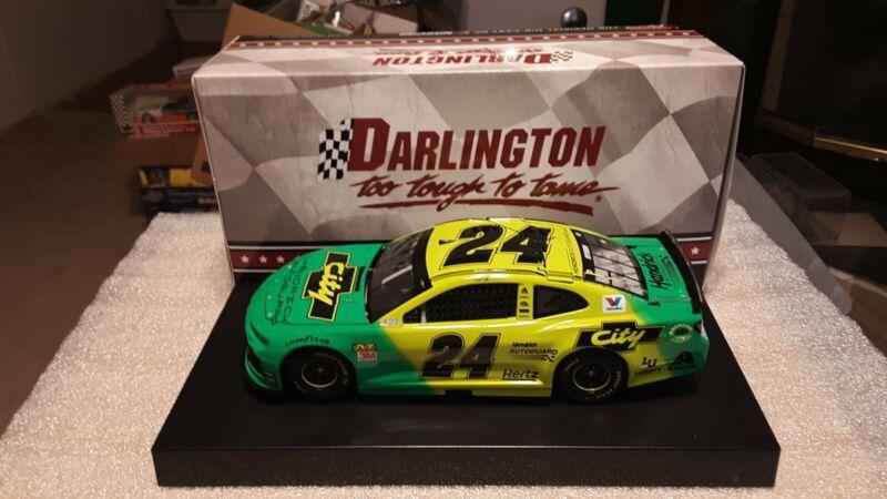 2019 William Byron 1//64 Darlington Days of Thunder Throwback City Chevrolet