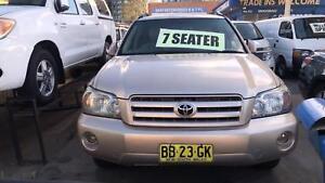 2005 Toyota Kluger CV Sport ! Fully Serviced & Inspected !! Granville Parramatta Area Preview