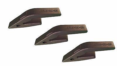 3 -backhoe Skid Steer Bucket Weld On Shanks- Fits 23 230 Teeth - 2740-zw-23