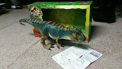 Jurassic Park Lost World Electronic Bull T-Rex Tyrannosaurus Rex w/ BOX