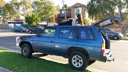 Perfect jeep for advanture travel@sleep in.has rego.camping stuf Sydney City Inner Sydney Preview