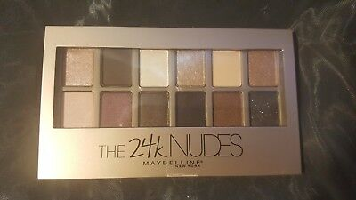 MAYBELLINE The 24K NUDES Eyeshadow Palette SEALED BRAND NEW!!