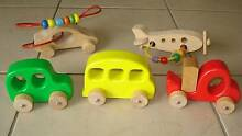 BULK LOT Wooden Toy Vehicles Beaudesert Ipswich South Preview